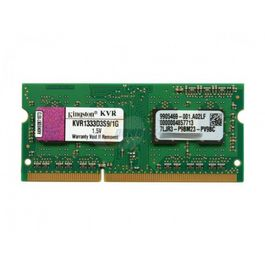 SODIMM DDR3 2GB KINGSTON PC1333 - Model: KVR13S9S6/2