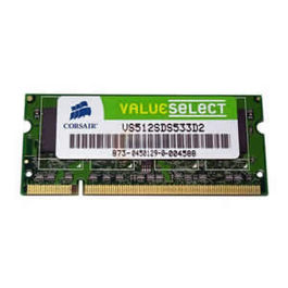 SODIMM DDR3 4GB CORSAIR PC1333 -Model: CMSO4GX3M1B1333C9