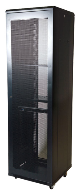 "ARMARIO RACK 19"" 42U SH8842 800X800 PTA. PERFORADA DOBLE"
