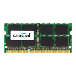 SODIMM DDR3L 8GB CRUCIAL PC1600 CL11 - 1.35V-Model: CT102464BF160B