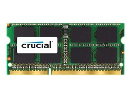 SODIMM DDR3 2GB 1333 MHz / PC3-10600 CL9 1.35 / 1.5 V, 204 espigas , sin memoria intermedia, no ECC
